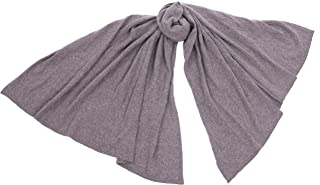 100% Pure Cashmere Travel Blanket Luxury Wrap Stole For Camping Hotels Flights By cashmere 4 U