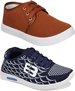 Camfoot Men's (9284-1138) Casual Sports Running Shoes