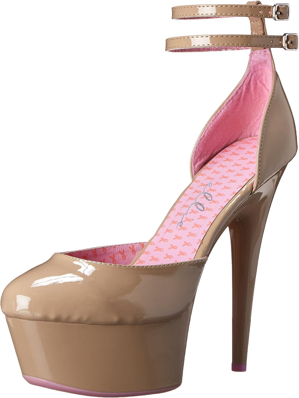 Ellie shoes Women's 609-Curissa D'Orsay Pump