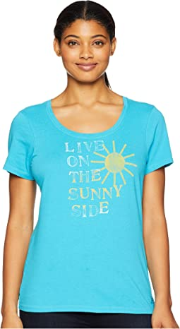 Live On the Sunny Side Crusher Scoop Neck T-Shirt