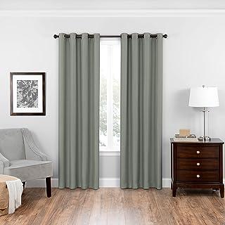 Eclipse Bryson Blackout Window Curtain 52x95 Celadon