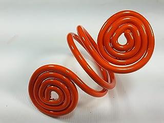 Ronds de serviette,orange.Modele Asteroid