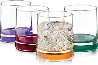 Libbey 4-pc. Impressions Colors Rocks Glass Set