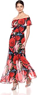 Betsey Johnson Women's Birds of Paradise Maxi Dress