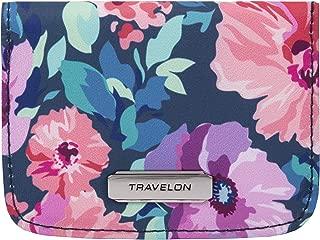 Travelon - Funda para tarjetas con bloqueo RFID