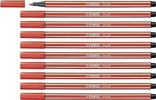 colore: Rosso Pennarello indelebile D.RECT punta rotonda Faber-Castell 2160