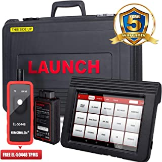 LAUNCH X431 V (V PRO) WiFi/Bluetooth OBD2 Scanner Auto Full System Diagnostic Tool Support ECU Coding,Actuation Test,Remote Diagnostic,Reset Functions Free Online Update+EL-50448 TPMS as Gift