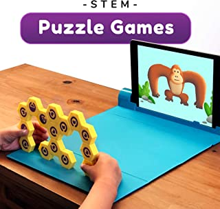 Shifu Plugo Link - Construction Kit with Puzzles, Augmented Reality Stem Toy | Fun Magnetic Building Blocks | Educational Engineering, Ages 5 - 10 Year Old Boys & Girls (App Based)
