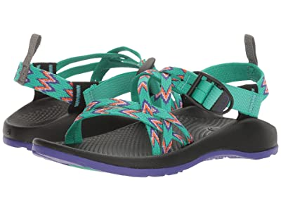 Chaco Kids ZX/1(r) Ecotread (Toddler/Little Kid/Big Kid) (Mint Leaf) Girls Shoes