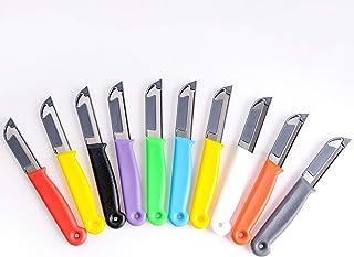 Solingen - Juego de cuchillos de cocina (10 unidades, acero inoxidable), varios colores