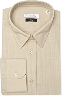 Versace BEIGE Shirt Neck Shirts For Men