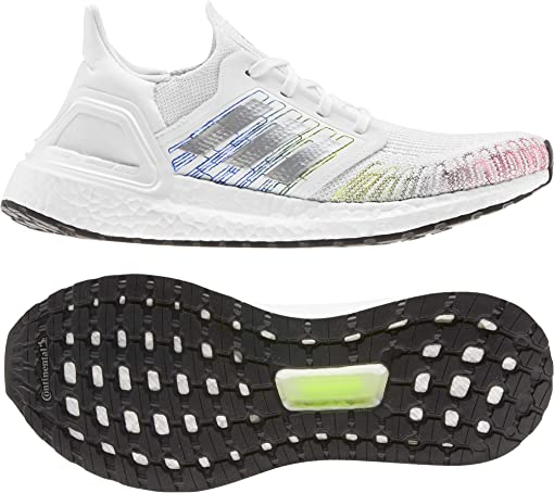 Footwear White/Core Black/Signal Green