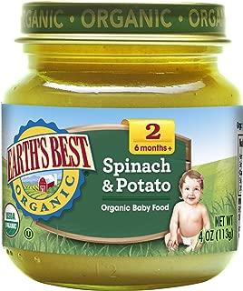 Earths Best Organic Spinach Potato