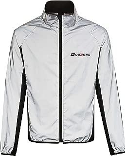 Oszone Cycling and Running 360 Reflective Long Sleeve Jacket-Men