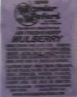 Wonder Wafers 25 CT Individually Wrapped Mulberry Air Fresheners
