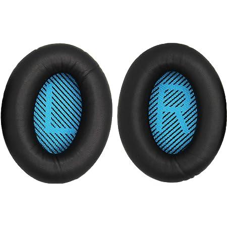 for Bose QuietComfort QC25 QC2 QC15 SoundTrue AE2 AE2i AE2w 対応 イヤーパッド イヤークッション (内側青)