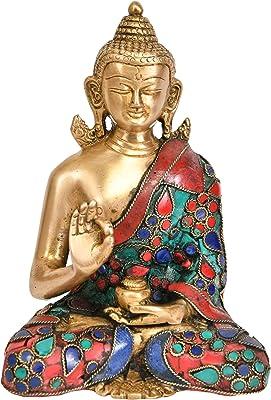 Exotic India RG31 Standing Four Armed Vishnu