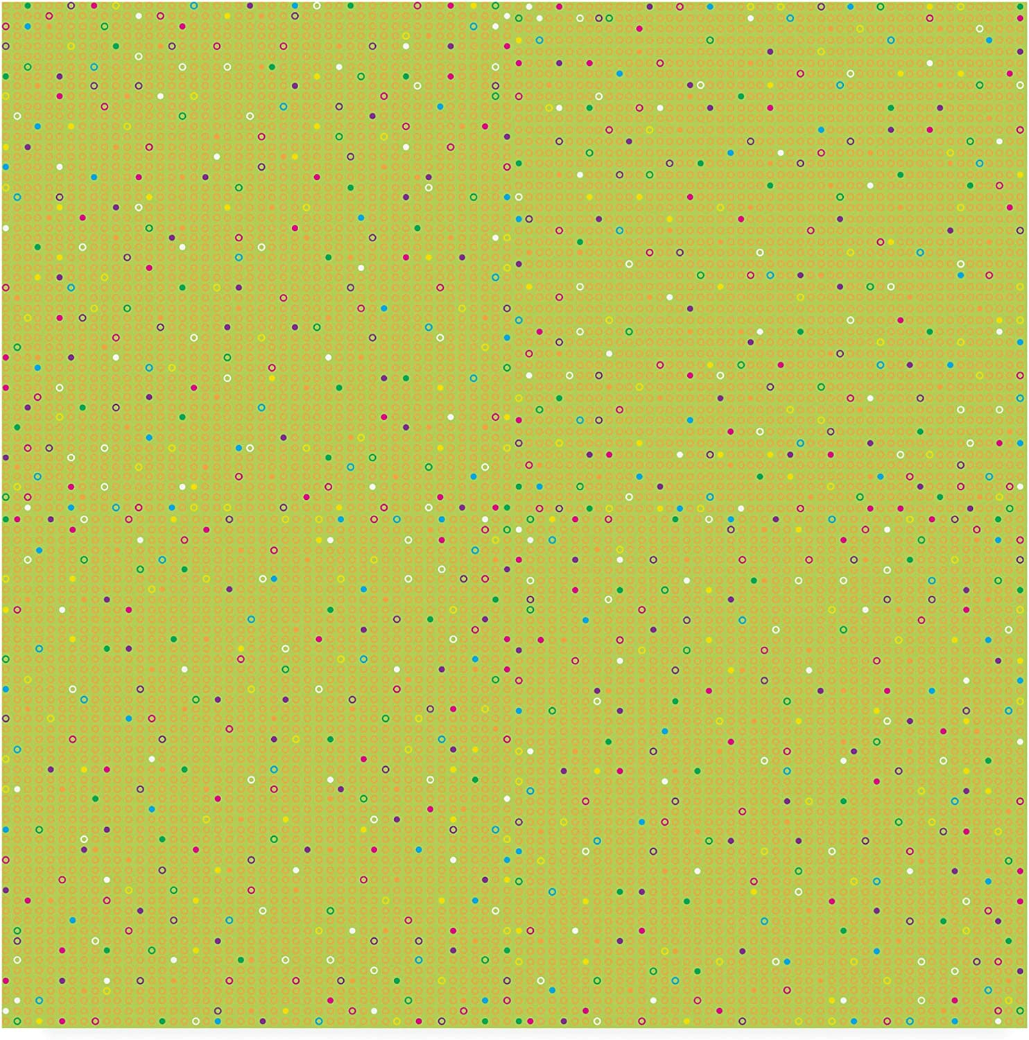 Trademark Fine Art colord Dots Repeat