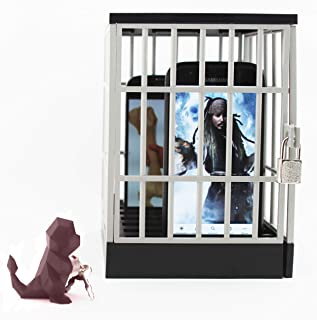 Mobile Phone Jail Cell Prison Lock Up - Hold Up to 6 Large Smart Phones