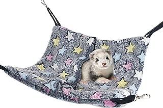 Niteangel Cage Hanging Nap Sack Swing Napping Hammock for Ferret Rat Chinchilla Sugar Glider