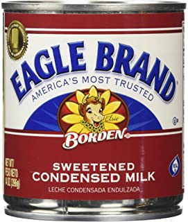 Eagle Brand Borden Sweetened Condensed Milk 4 Pack of 14 oz. Cans