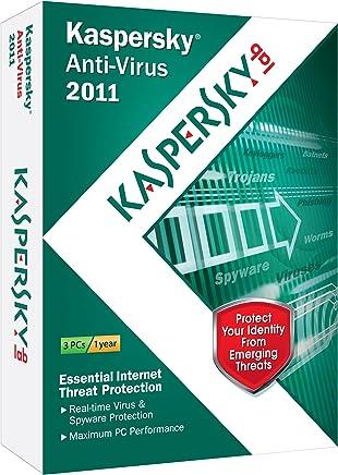 Kaspersky Anti-Virus 2011 3-User [Old Version]