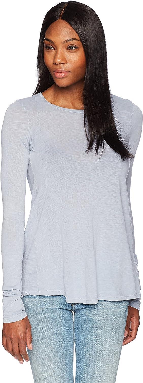 Stateside Womens Lace Up Back Long Sleeve Shirt