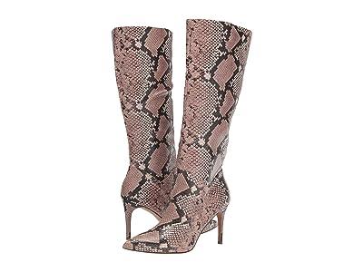 Steve Madden Kinga Knee High Boot (Pink Snake) Women
