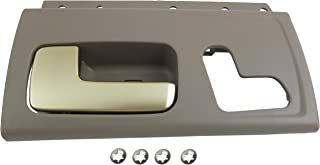 Dorman 80472 Front Driver Side Interior Door Handle for Select Lincoln Models, Gray and Chrome