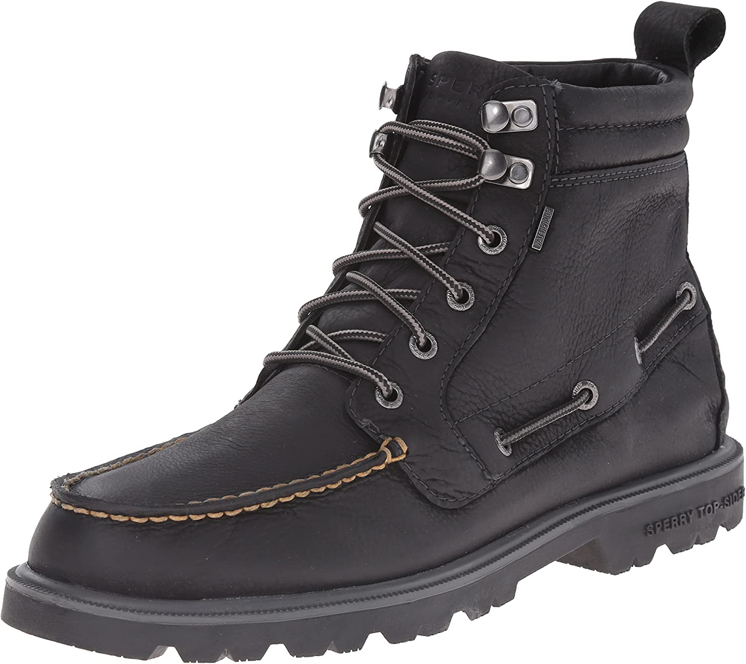 Sperry Top-Sider Men's Authentic Original Lug Boot WP Winter Boot Black