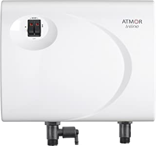 Atmor AT-S901-13 Tankless Electric Hot Water Heater, 13kW, White