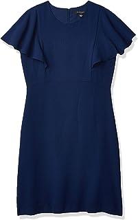 Sharagano Women's Flutter Sleeve Dress