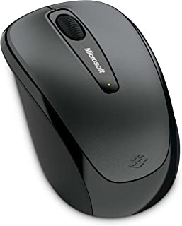 Microsoft Wireless Mobile Mouse 3500 - Loch Ness Gray (GMF-00010)