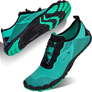 Mens Water Shoes Quick Dry Beach Swim Shoes Barefoot Pool Aqua Socks Shoes for Surf Diving Outdoor Hiking Walking Water Sport