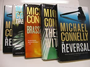 Michael Connelly Lincoln Lawyer 4 Book Set (Lincolon Lawyer, The Brass Verdict, The Reversal, The Fifth Witness, 1-4)