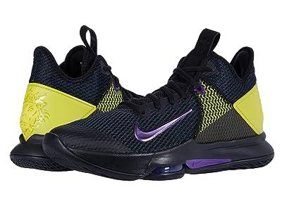 Nike Lebron Witness IV (Black/Voltage Purple/Opti Yellow/White) Men