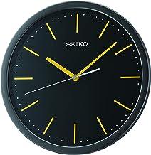 Seiko Plastic Case Wall Clock (30 cm x 30 cm x 4.5 cm, White)