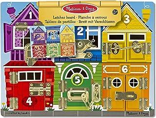 Melissa & Doug 13785 Pussel med Fasta Bitar för Barn, Flerfärgad, 39,37 x 29,21 x 3,175 cm, 3+ År