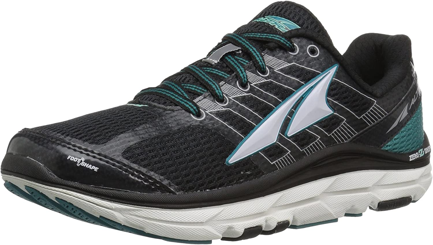 Altra Provision 3.0 Women's Road Running shoes, Black Teal, 7.5