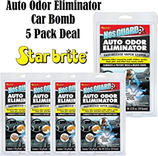 Star Brite 19970 NosGuard SG Auto Odor Eliminator Smoke Pet & Foul Odor Control 5 Pack Deal