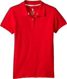 Stretch Pique Polo (Little Kids/Big Kids)