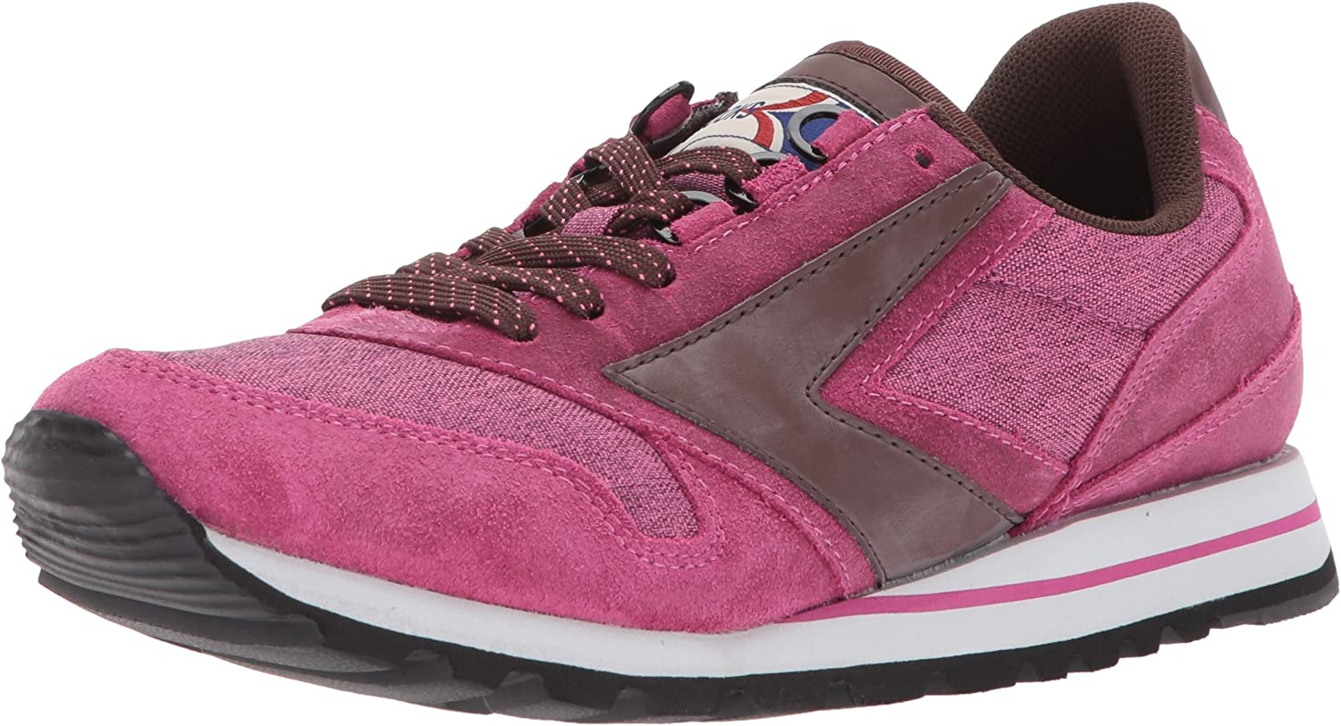 Brooks Women's Chariot Laceup Sneaker, Mesapink Frenchroast Ascension, 9.5 M US