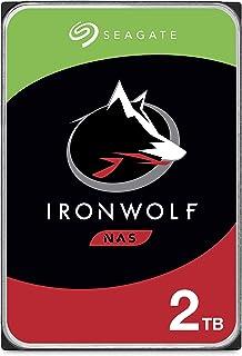 Seagate IronWolf, 2TB, NAS, Disco duro interno, HDD, CMR 3,5
