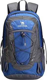 CAMEL CROWN 30L Lightweight Hiking Backpack Outdoor Trekking Durable Travel Daypack