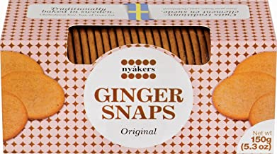 Nyakers Ginger Snaps Original Cookies, 150 g