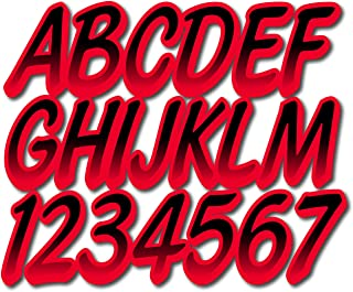 STIFFIE Techtron Black//Jade 3 Alpha-Numeric Registration Identification Numbers Stickers Decals for Boats /& Personal Watercraft