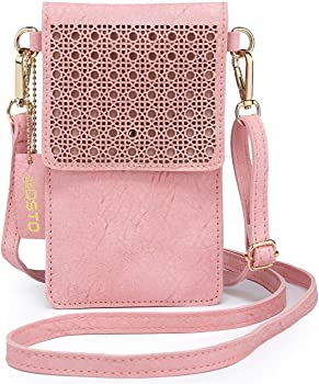 seOSTO Small Crossbody Bag, Cell Phone Purse Smartphone Wallet