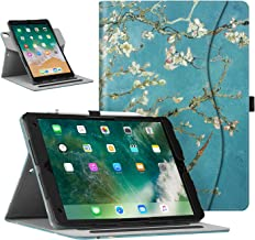 "FINTIE Case for iPad Air 3 10.5 2019 / iPad Pro 10.5"" 2017 [Corner Protection] - Portrait and Landscape Multi-Angle Viewing Smart Stand Cover with Pencil Holder, Auto Sleep/Wake, Blossom"