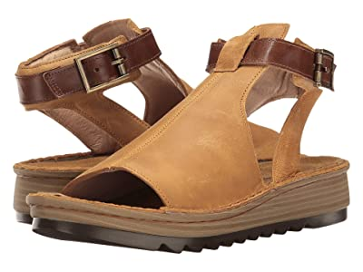 Naot Verbena (Oily Dune Nubuck/Maple Brown Leather) Women