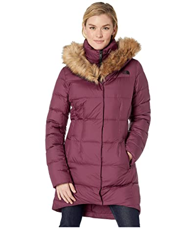 The North Face Dealio Down Parkina (Deep Garnet Red) Women